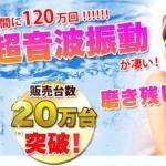 超音波イオン歯ブラシ「NEWプーロ」2本セットがお得!