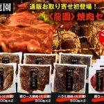龍園の焼肉セットを値引き価格でお取り寄せ!